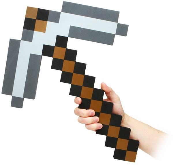 Ответы Майнкрафт, Команда которая ломает несколько блоков киркой