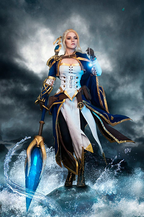 Image result for jaina battle for azeroth cosplay