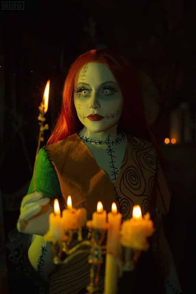 Russian Cosplay: Sally (The Nightmare Before Christmas)