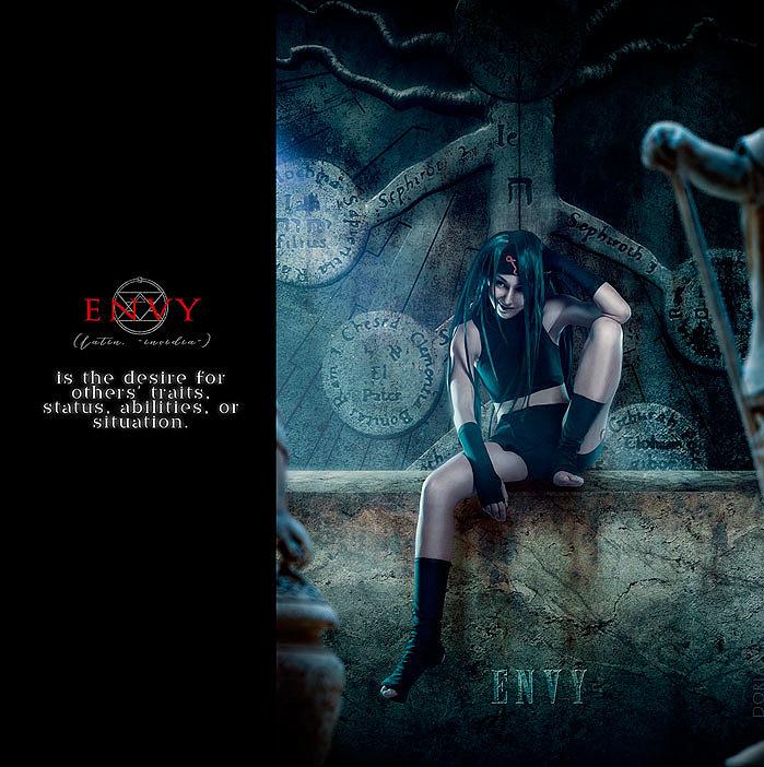 Russian Cosplay: Envy, Greed, Lust, Wrath, Gluttony, Pride, Sloth (Fullmetal Alchemist: Brotherhood)