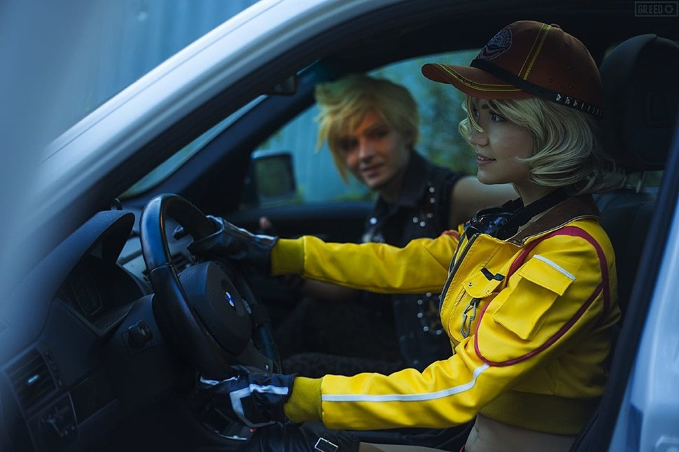 Russian Cosplay: Prompto & Cindy (Final Fantasy XV)