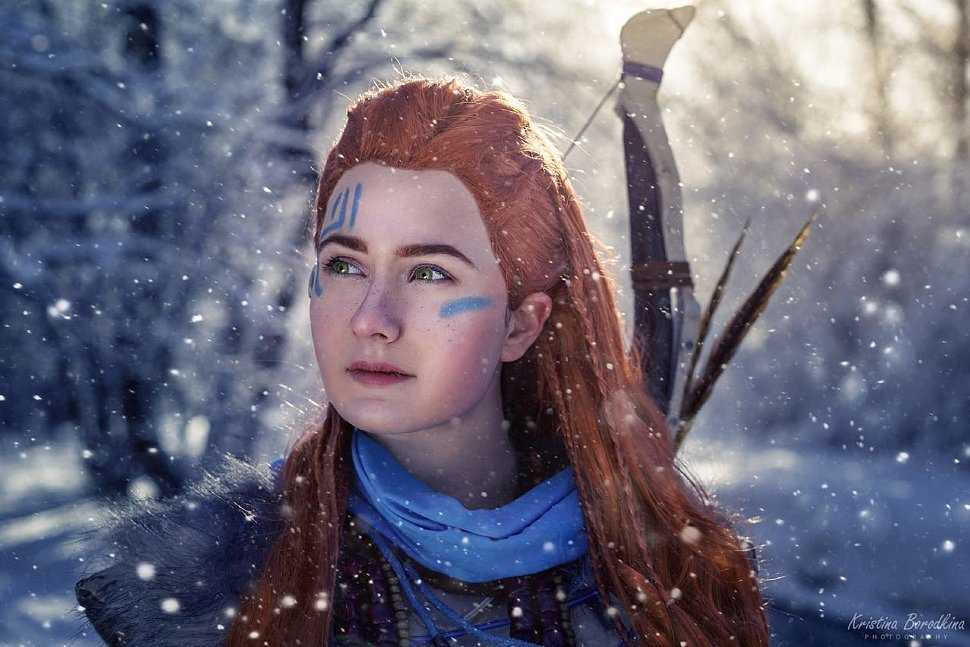 Russian Cosplay: Aloy (Horizon Zero Dawn: The Frozen Wilds)