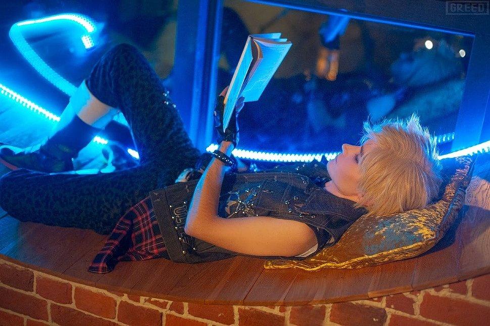 Russian Cosplay: Prompto & Cindy (Final Fantasy XV)