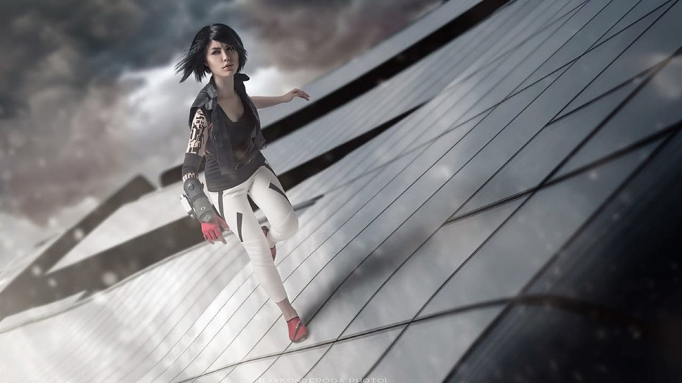 Russian Cosplay: Faith Connors (Mirror's Edge Catalyst)