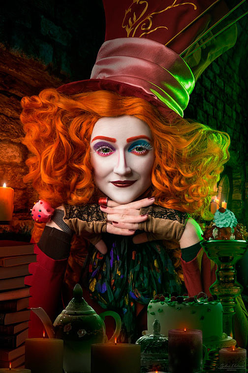 Russian Cosplay: Mad Hattress (Alice in Wonderland series)