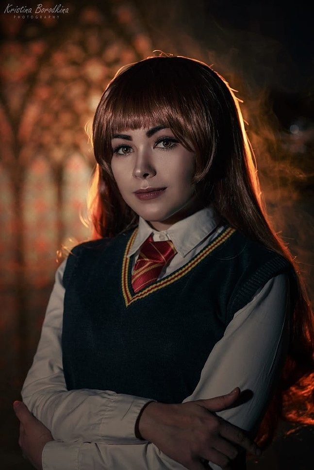 Russian Cosplay: Hermione Granger (Harry Potter)