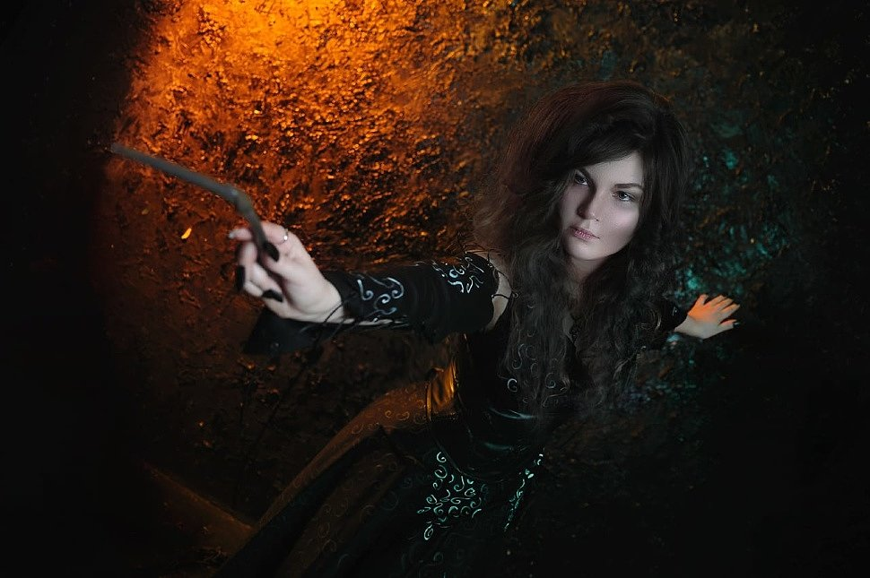 Russian Cosplay: Bellatrix Lestrange (Harry Potter)