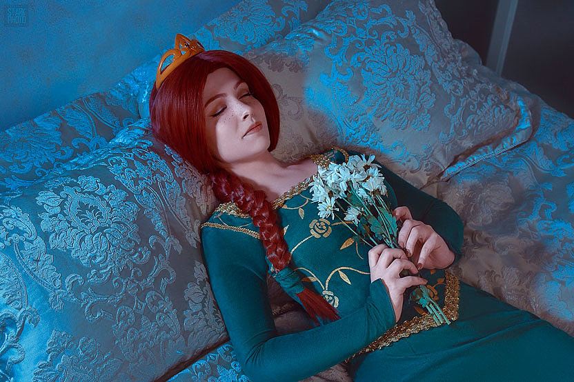 Russian Cosplay: Princess Fiona (Shrek)
