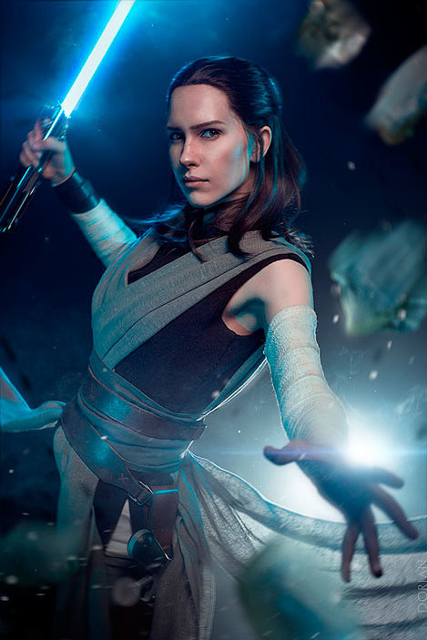 Russian Cosplay: Rey (Star Wars: The Last Jedi)