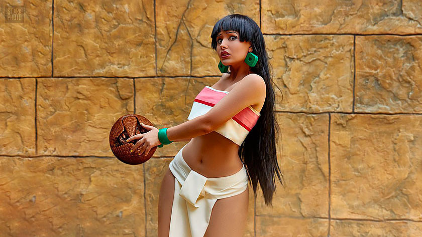 Russian Cosplay: Chel (The Road to El Dorado)