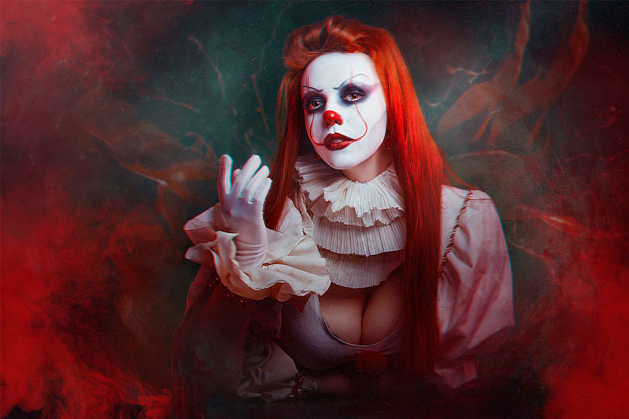 Russian Cosplay: fem! Pennywise (It (2017))
