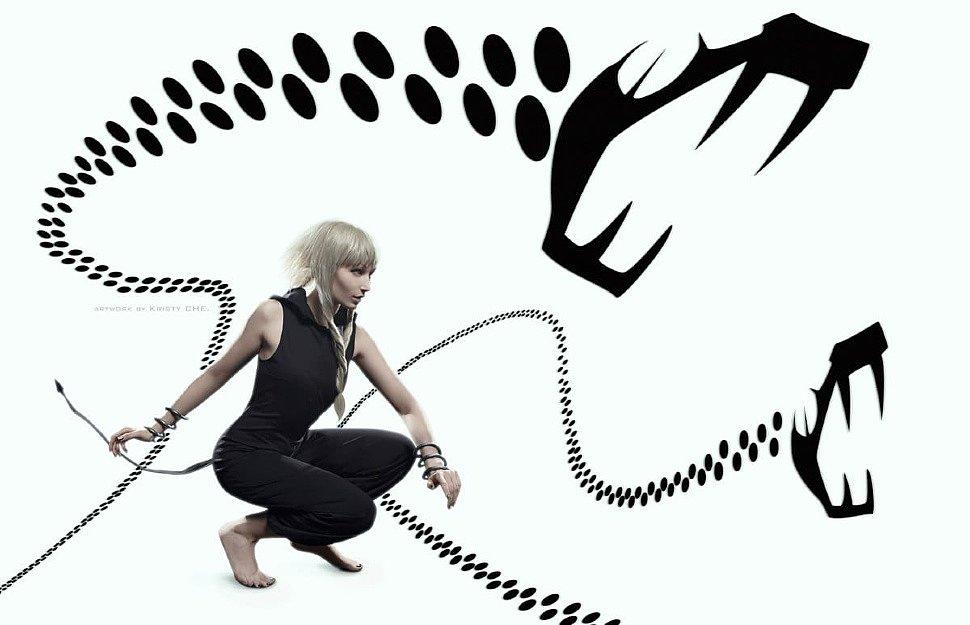 Russian Cosplay: Medusa Gorgon (Soul Eater)