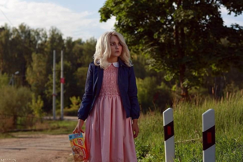 Russian Cosplay: Eleven (Stranger Things)