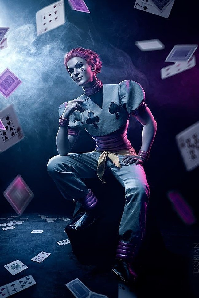 Russian Cosplay: Hisoka (Hunter x Hunter) ver. 2