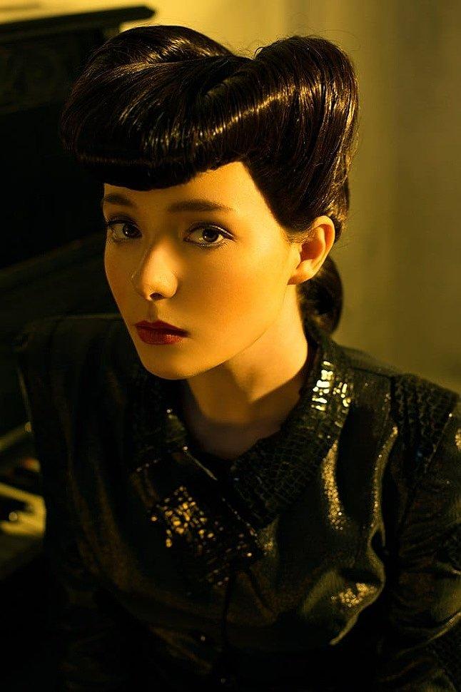 Russian Cosplay: Rachael (Blade Runner)