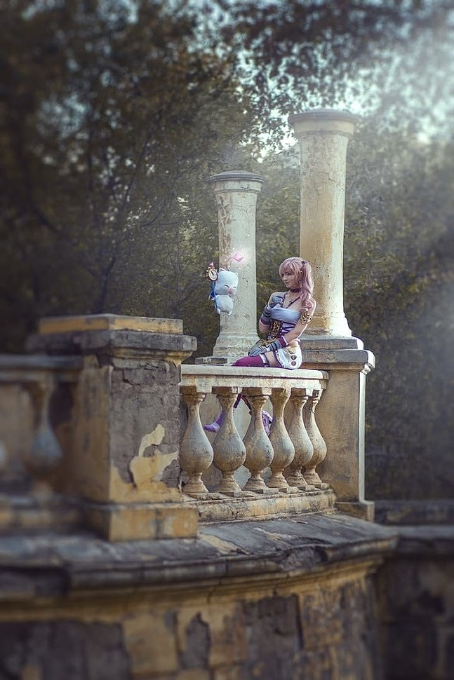 Russian Cosplay: Serah Farron (Final Fantasy XIII-2)