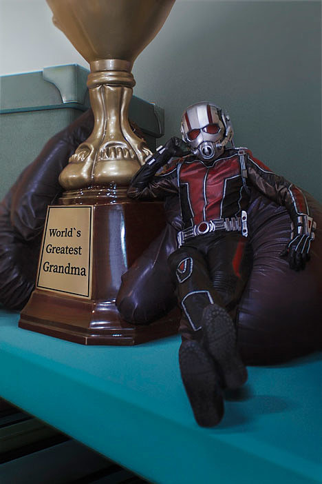 Russian Cosplay: Ant-man (Marvel Cinematic Universe)