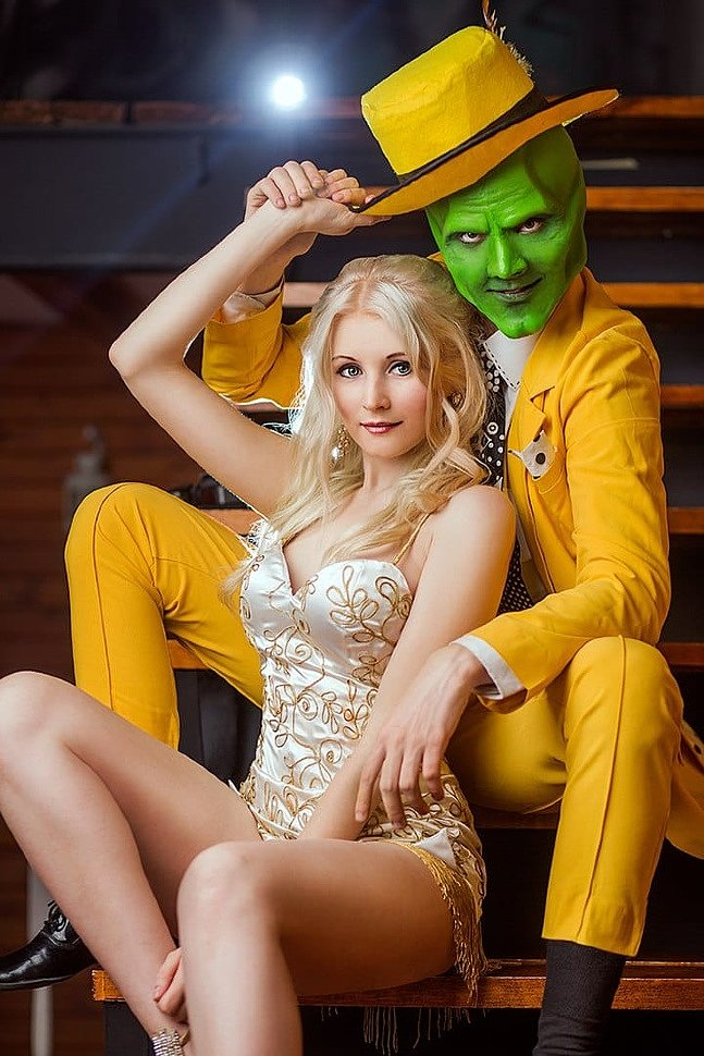 Russian Cosplay: Mask & Tina Carlyle (The Mask)