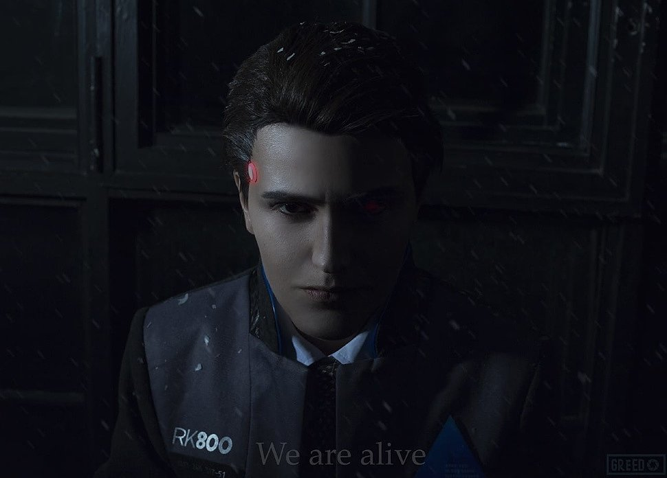 Russian Cosplay: Connor (Detroit: Become Human)