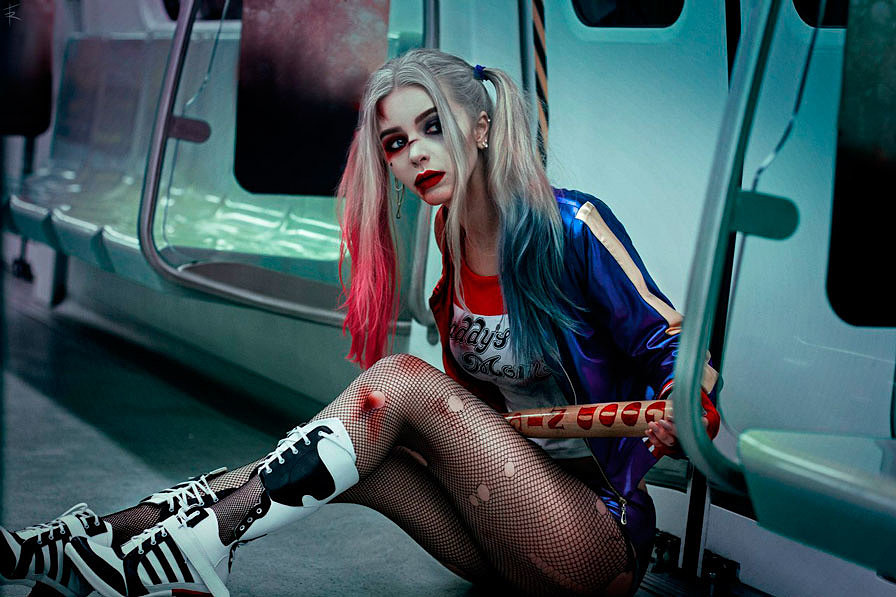 Russian Cosplay: Harley Quinn (Suicide Squad)