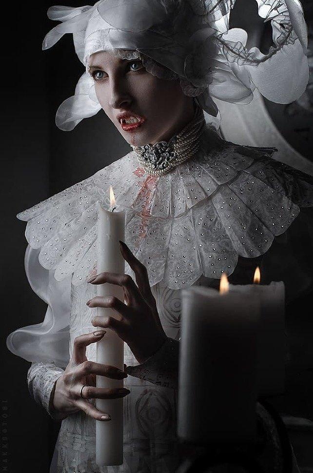 Russian Cosplay: Lucy Westenra (Bram Stoker's Dracula)