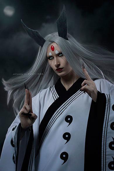 Russian Cosplay: Kaguya Ootsutsuki (Naruto: Shippuuden)