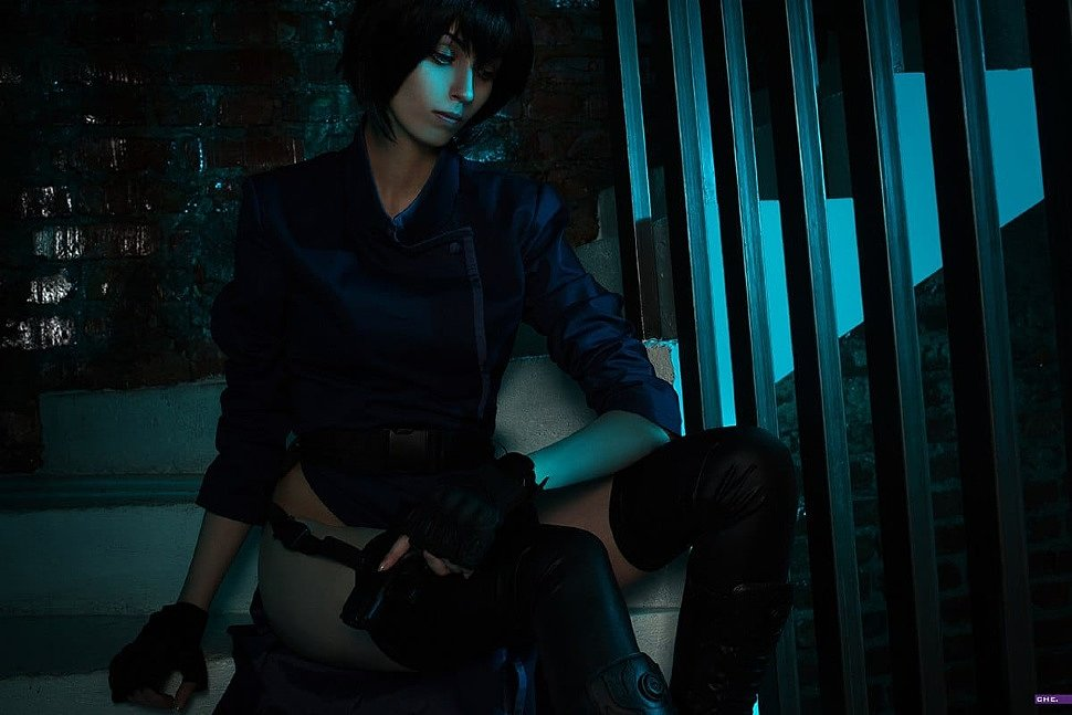 Russian Cosplay: Motoko Kusanagi (Ghost in the Shell 1995)