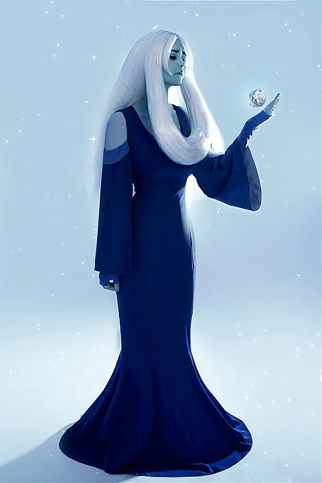 Russian Cosplay: Blue Diamond (Steven Universe)