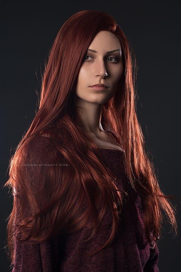 Russian Cosplay: Jean Grey Dark Phoenix (X-Men)