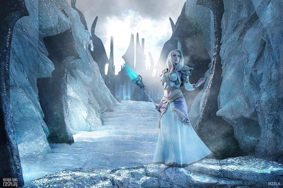 Russian Cosplay: Frost Lich Jaina (Hearthstone)