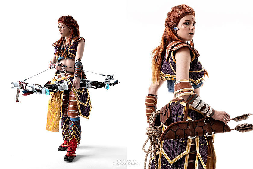 Russian Cosplay: Aloy (Horizon Zero Dawn)