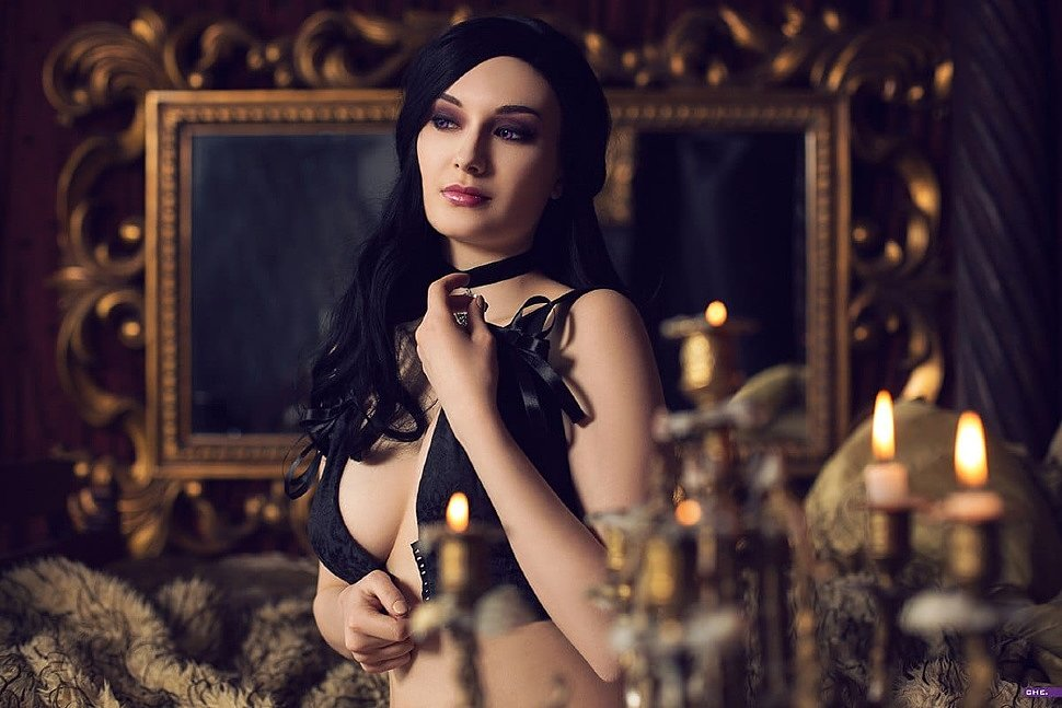 Russian Cosplay: Yennefer (The Witcher 3)