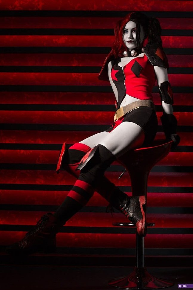 Russian Cosplay: Harley Quinn New 52 (DC Comics)
