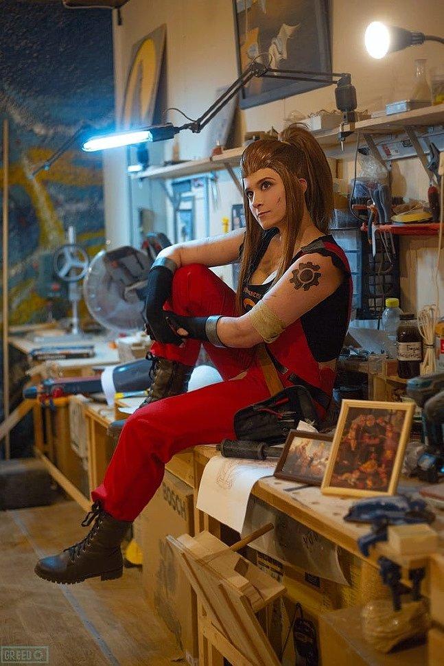 Russian Cosplay: Brigitte (Overwatch)