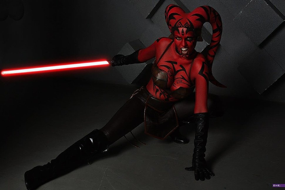 Russian Cosplay: Darth Talon (Star Wars)