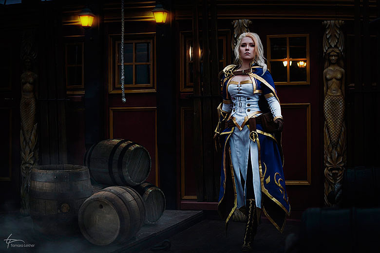 Russian Cosplay: Lord Admiral Jaina Proudmoore (World of Warcraft: Battle for Azeroth)