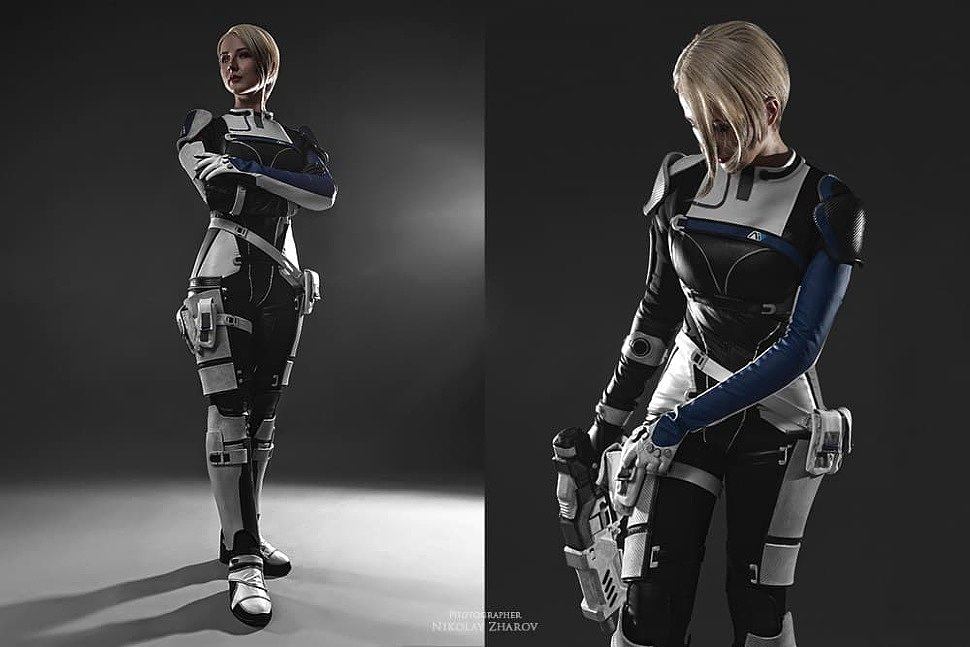 Russian Cosplay: Cora Harper (Mass Effect Andromeda)