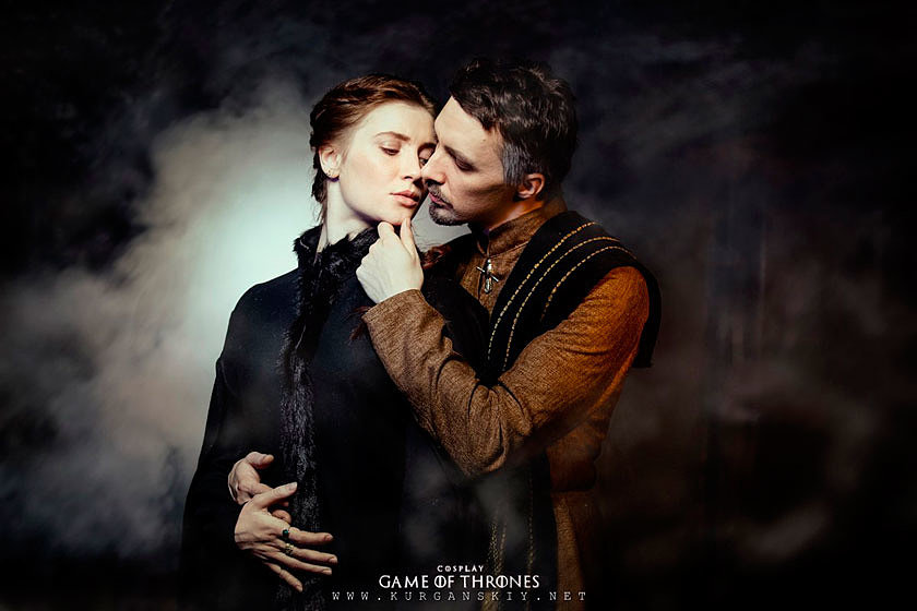 Russian Cosplay: Petyr Baelish, Sansa Stark (Game of Thrones)