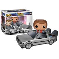 Набор фигурок POP Movie: Back to The Future - Delorean