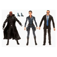 Набор фигурок Marvel Legends Avengers - Agent Coulson, Nick Fury & Maria Hill