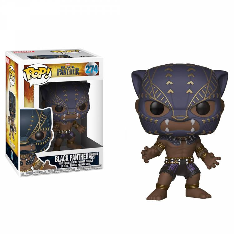 Фигурка POP Marvel: Black Panther - Black Panther (Warrior Falls)