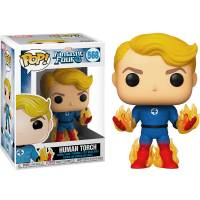 Фигурка POP Marvel: Fantastic Four - Human Torch (Exclusive)