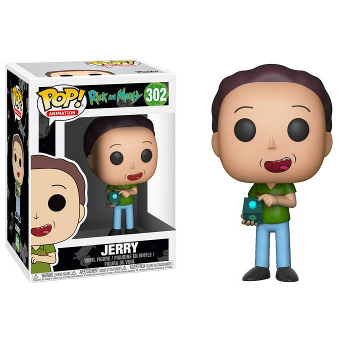 Фигурка POP Animation: Rick and Morty - Jerry