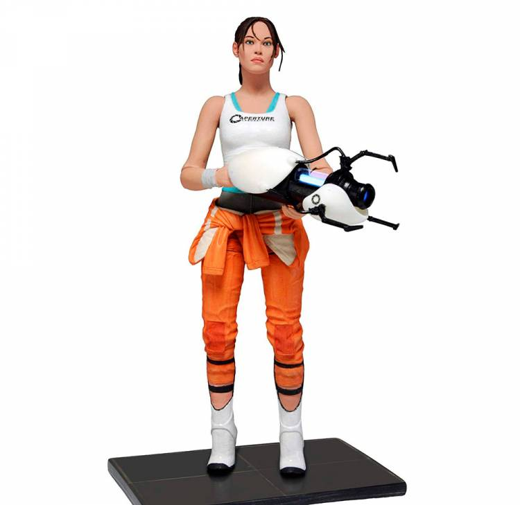 Фигурка Portal 2 - Chell with Light-Up ASHPD
