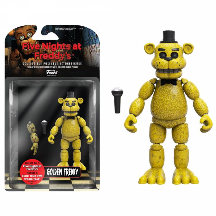 Фигурка Five Nights at Freddy's Golden Freddy