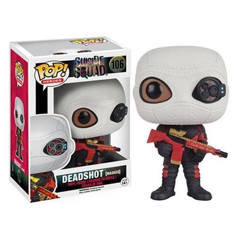 Фигурка POP Movies: Suicide Squad - Deadshot (Masked)