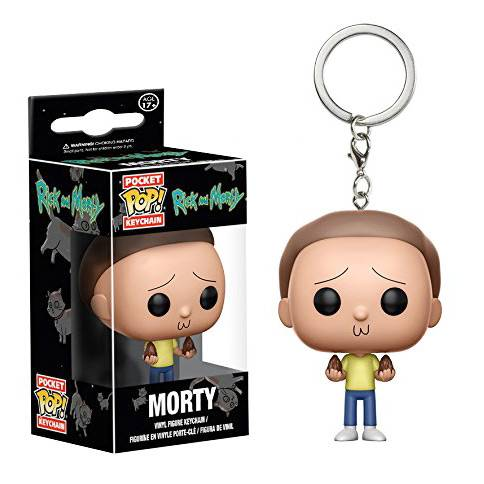 Брелок Pocket POP Keychain: Rick and Morty - Morty