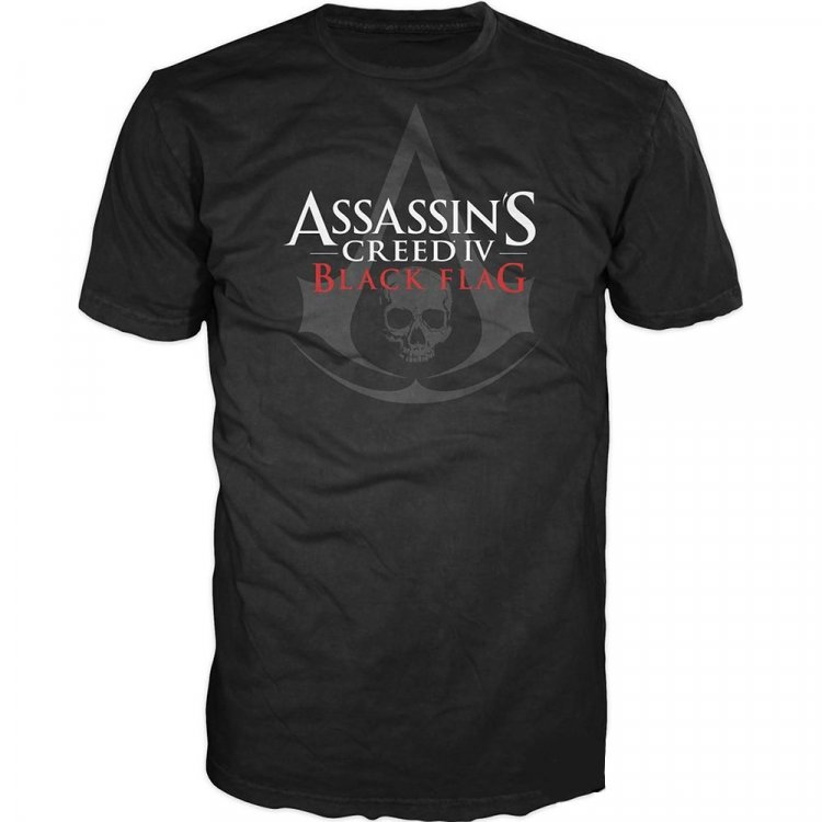 Футболка Assassin's Creed IV Black Flag Logo