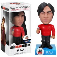 Фигурка Star Trek Big Bang Theory: Raj Wacky Wobbler