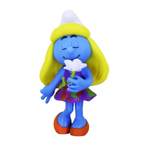 Фигурка Smurfs Smurfette Flower (Purple Dress)